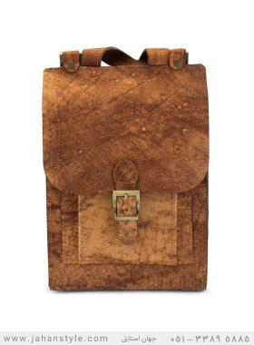کیف دوشی چرم طبیعی (شتری)