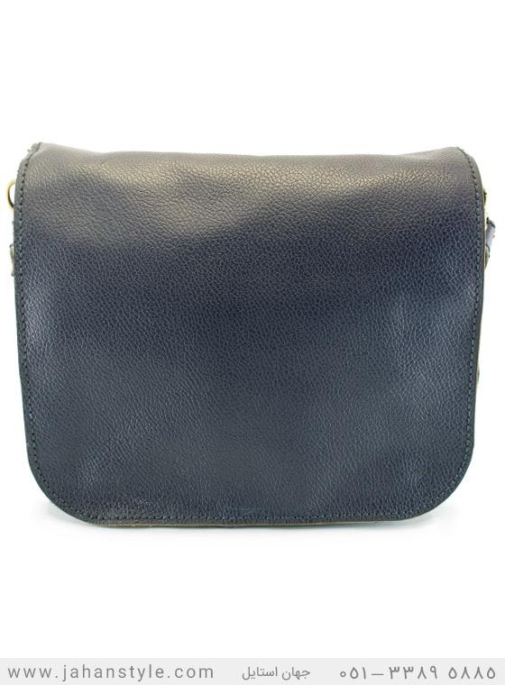 کیف دوشی دست دوز چرم طبیعی