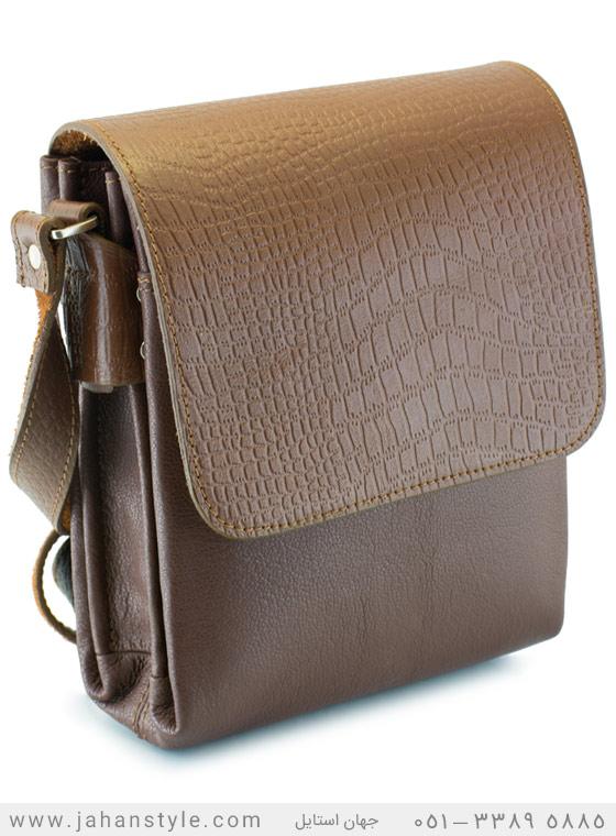 کیف دوشی روزمره چرم طبیعی