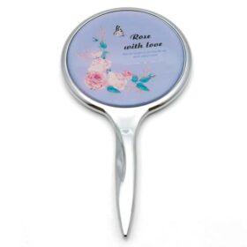 آینه دسته دار مدل گل