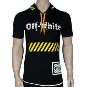 تیشرت پسرانه آف وایت Off-White (کلاه دار)