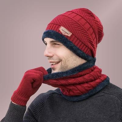 کلاه و شال گردن پسرانه