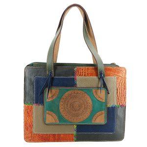 خرید کیف چهل تکه با رنگ های جذاب
