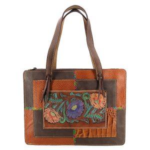 خرید کیف چرم طبیعی دستی زنانه